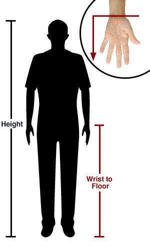 Wrist to Floor Measurement